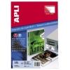 Гарантийные белые этикетки из полиэстера Apli Security