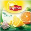 """Чай черный пакетированный """"Lipton"""" CITRUS Tea"""