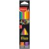 Карандаши цветные флуоресцентные Color'Peps Fluo