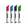 Набор маркеров для доски Kores, 4 цв. + щетка