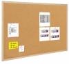 Доска пробковая в деревянной рамке Bi-Office