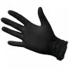 Перчатки нитриловые одноразовые текстурированные неопудренные черные