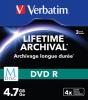 Диск DVD+R 4,7 Гб запис. 4х.Slim Single M-DISC 3шт
