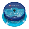 CD-R 700 мБ Verbatim на шпинделе