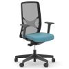 Кресло для персонала Narbutas WIND, корпус из черного пластика