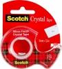 """Клейкая лента Scotch """"Crystal"""" в диспенсере"""