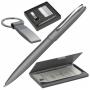 """Набор """"Horley"""": ручка автоматическая, визитница и брелок"""