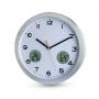 """Часы настенные c термометром и гигрометром """"Maine"""""""