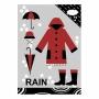 "Тетрадь ""Очарование дождя"""