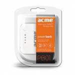 Зарядное устройство ACME POwerBank 01 для плееров и телефонов