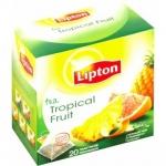 """Чай черный пакетированный  """"Lipton""""  Tropical Fruit"""