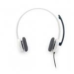 Компьютерные наушники с микрофоном Logitech Stereo Headset H150