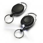 Рулетка с фонариком для ключей Jojo Style LED