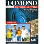 Фотобумага Lomond суперглянцевая ярко-белая для струйной фотопечати