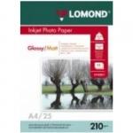 Двусторонняя Глянцевая/Матовая фотобумага для струйной печати Lomond
