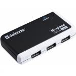USB HUB (разветвитель) Defender Quadro Infix USB2.0