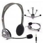 Наушники с микрофоном Stereo Headset H111 Logitech