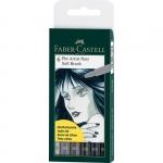 Faber-Castell Ручки капиллярные PITT artist pens Soft Brush