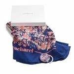 """Набор подарочный """"CPFH227"""": платок шелковый и держатель для сумки"""