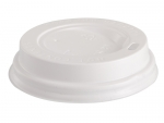 Крышка пластиковая для стаканов для горячих напитков 100 шт/упак