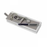 """Набор подарочный """"CPBK4124"""": шариковая автоматическая ручка и брелок"""
