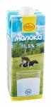 Молоко питьевое ультрапастеризованное 1,5 %, 1л с крышкой