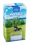 Молоко питьевое ультрапастеризованное 3,2 %, 1л без крышки