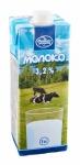 Молоко питьевое ультрапастеризованное 3,2 %, 1л с крышкой