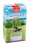 Молоко питьевое ультрапастеризованное 6 %, 1л без крышки