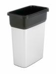 Контейнер пластиковый для мусора VILEDA Гея, с металлизированным покрытием
