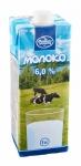 Молоко питьевое ультрапастеризованное 6 %, 1л с крышкой