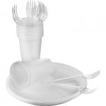 Набор одноразовой посуды для пикника