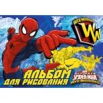 """Альбом для рисования """"Spider-man"""""""