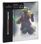 """Набор подарочный: книга записная A5 и ручка роллер """"Star Wars™ Yoda™"""""""