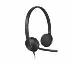 Наушники с микрофоном Logitech Stereo Headset H340