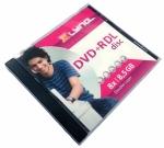 Диск DVD+R 8,5 Гб (Jewel упаковка) 8х Xlyne двухслойный