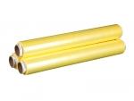 Пленка пищевая 30 см*900м 8мкм, цвет желтый