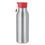 """Бутылка для воды """"Madison"""" красный/серебристый"""
