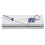 """Набор """"CPRU512"""": ручка-роллер и флешка-брелок"""