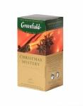 """Чай """"Greenlield""""  Christmas Mystery черный с пряностями и ароматом цитрусовых"""