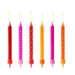 Набор свечей для торта «Клубничка»
