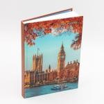 """Ежедневник датированный A5 """"Городской стиль. Лондон"""""""