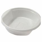 Пластиковая тарелка суповая