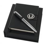 """Набор """"UPBM518"""": блокнот A6 + ручка шариковая автоматическая"""