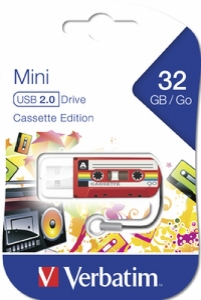 USB Flash Verbatim 2.0 Mini Cassete Edition