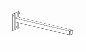 Настенное крепление Projecta для экрана (57 см)