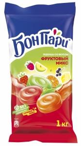 """Леденцы фруктовые """"Бон Пари ассорти"""""""