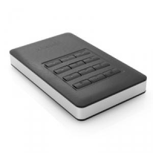 """Портативный диск 2.5"""" 1TB USB 3.0 красный GEN1 с ПИН-кодом и шифрованием данных"""
