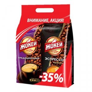 Набор кофе «Жокей» в зерне