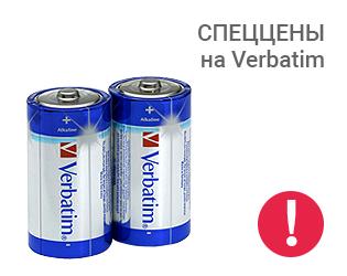 Спеццены на батарейки Verbatim!